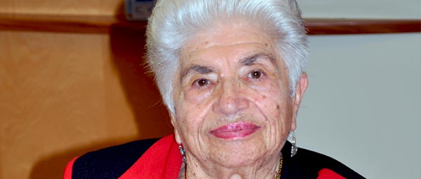 Since Luba and her husband Naum arrived in Australia in 1980, JewishCare in Sydney, a recipient of Claims Conference allocations, has been a constant help to them, and more so since they have become frailer by providing homecare and day center programs.